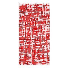 Red Decorative Pattern Shower Curtain 36  X 72  (stall)  by Valentinaart