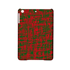 Green And Red Pattern Ipad Mini 2 Hardshell Cases by Valentinaart
