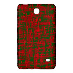 Green And Red Pattern Samsung Galaxy Tab 4 (7 ) Hardshell Case  by Valentinaart