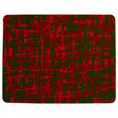 Green And Red Pattern Jigsaw Puzzle Photo Stand (rectangular) by Valentinaart