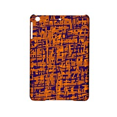 Blue And Orange Decorative Pattern Ipad Mini 2 Hardshell Cases by Valentinaart