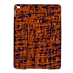 Blue And Orange Decorative Pattern Ipad Air 2 Hardshell Cases by Valentinaart