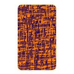 Orange And Blue Pattern Memory Card Reader by Valentinaart