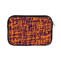 Orange And Blue Pattern Apple Ipad Mini Zipper Cases by Valentinaart