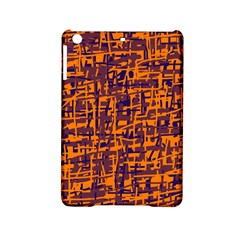 Orange And Blue Pattern Ipad Mini 2 Hardshell Cases by Valentinaart