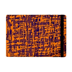 Orange And Blue Pattern Ipad Mini 2 Flip Cases by Valentinaart
