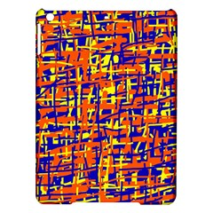 Orange, Blue And Yellow Pattern Ipad Air Hardshell Cases by Valentinaart