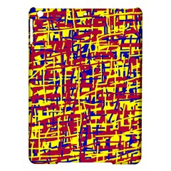 Red, Yellow And Blue Pattern Ipad Air Hardshell Cases by Valentinaart