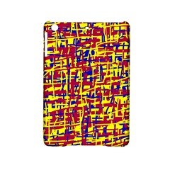 Red, Yellow And Blue Pattern Ipad Mini 2 Hardshell Cases by Valentinaart
