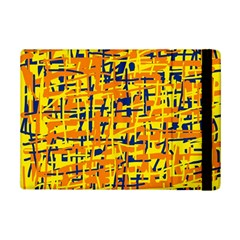 Yellow, Orange And Blue Pattern Ipad Mini 2 Flip Cases by Valentinaart
