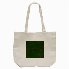 Green And Red Pattern Tote Bag (cream)