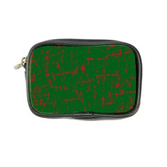 Green And Red Pattern Coin Purse