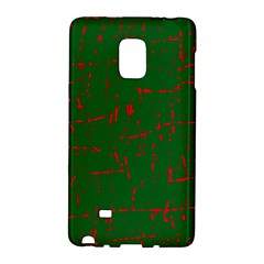 Green And Red Pattern Galaxy Note Edge by Valentinaart