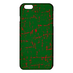 Green And Red Pattern Iphone 6 Plus/6s Plus Tpu Case