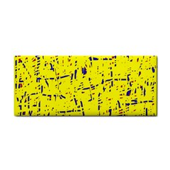 Yellow Summer Pattern Hand Towel