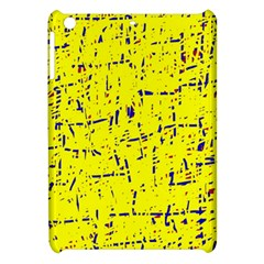 Yellow Summer Pattern Apple Ipad Mini Hardshell Case by Valentinaart