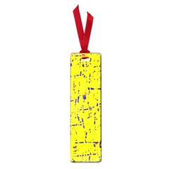 Yellow Summer Pattern Small Book Marks by Valentinaart
