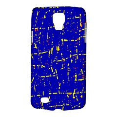 Blue Pattern Galaxy S4 Active by Valentinaart