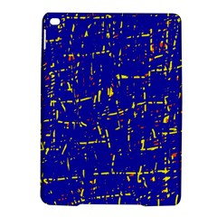 Blue Pattern Ipad Air 2 Hardshell Cases by Valentinaart
