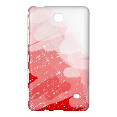 Red Pattern Samsung Galaxy Tab 4 (7 ) Hardshell Case  by Valentinaart