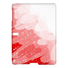 Red Pattern Samsung Galaxy Tab S (10 5 ) Hardshell Case  by Valentinaart