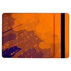 Orange And Blue Artistic Pattern Ipad Air Flip by Valentinaart