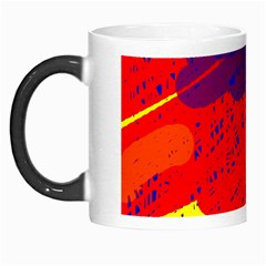 Colorful Pattern Morph Mugs by Valentinaart