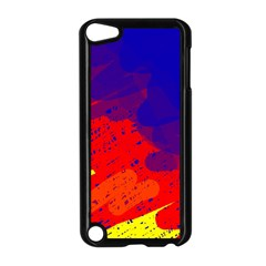 Colorful Pattern Apple Ipod Touch 5 Case (black)