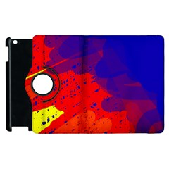 Colorful Pattern Apple Ipad 2 Flip 360 Case by Valentinaart