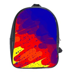 Colorful Pattern School Bags (xl)  by Valentinaart