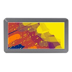 Colorful Abstract Pattern Memory Card Reader (mini) by Valentinaart