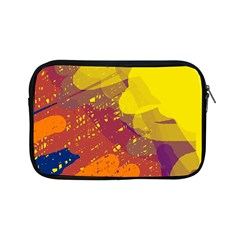 Colorful Abstract Pattern Apple Ipad Mini Zipper Cases by Valentinaart