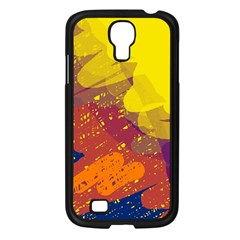 Colorful Abstract Pattern Samsung Galaxy S4 I9500/ I9505 Case (black) by Valentinaart