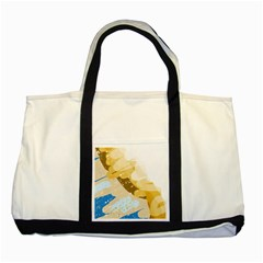 Artistic Pastel Pattern Two Tone Tote Bag by Valentinaart