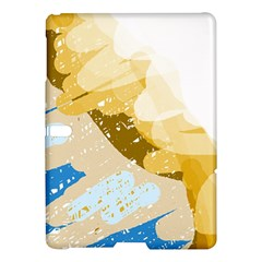 Artistic Pastel Pattern Samsung Galaxy Tab S (10 5 ) Hardshell Case  by Valentinaart