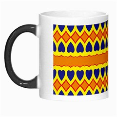 Hearts And Rhombus Pattern                                                                                          Morph Mug