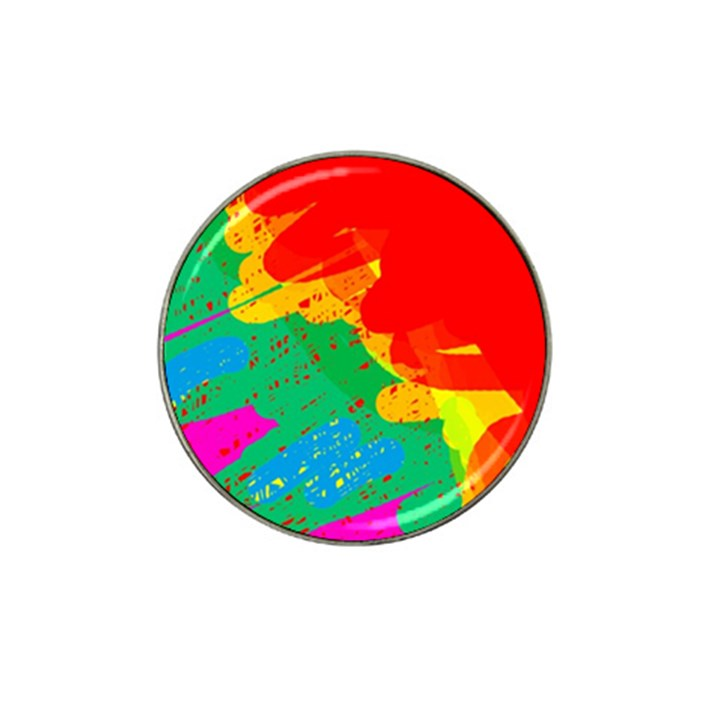 Colorful abstract design Hat Clip Ball Marker (10 pack)