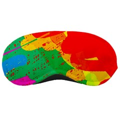 Colorful Abstract Design Sleeping Masks by Valentinaart