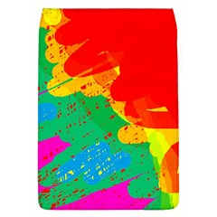 Colorful Abstract Design Flap Covers (l)  by Valentinaart