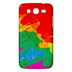 Colorful Abstract Design Samsung Galaxy Mega 5 8 I9152 Hardshell Case  by Valentinaart