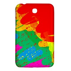 Colorful Abstract Design Samsung Galaxy Tab 3 (7 ) P3200 Hardshell Case