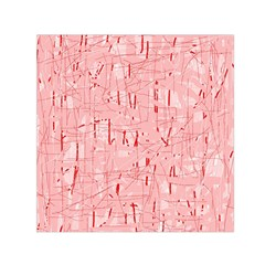 Elegant Pink Pattern Small Satin Scarf (square) by Valentinaart