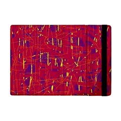 Red And Blue Pattern Ipad Mini 2 Flip Cases by Valentinaart