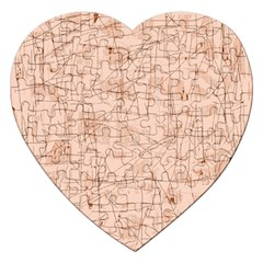 Elegant Patterns Jigsaw Puzzle (heart) by Valentinaart