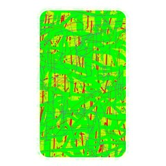 Neon Green Pattern Memory Card Reader by Valentinaart