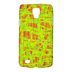 Yellow And Orange Pattern Galaxy S4 Active by Valentinaart