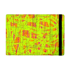 Yellow And Orange Pattern Ipad Mini 2 Flip Cases by Valentinaart