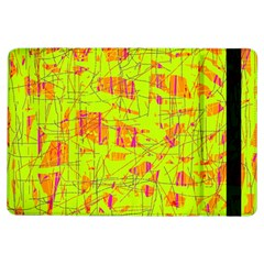Yellow And Orange Pattern Ipad Air Flip by Valentinaart