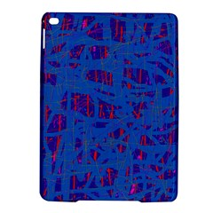 Deep Blue Pattern Ipad Air 2 Hardshell Cases by Valentinaart