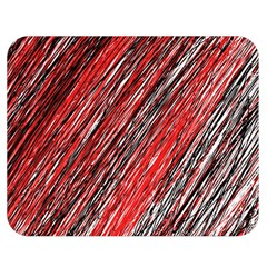 Red And Black Elegant Pattern Double Sided Flano Blanket (medium)  by Valentinaart